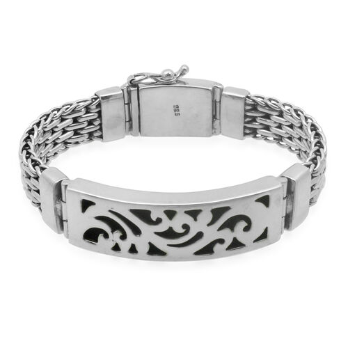 Royal Bali Collection Sterling Silver Bracelet (Size 7.5), Silver wt 58.50 Gms.