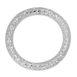 RACHEL GALLEY Sterling Silver Allegro Bangle (Size 7.5 / Medium), Silver wt 44.00 Gms.