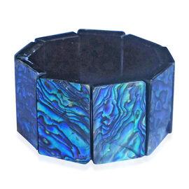 Rare Pawa Abalone Shell Stretchable Bracelet