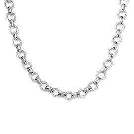 Belcher Necklace (Size 20) in Stainless Steel
