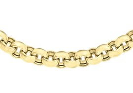 Close Out Deal 9K Y Gold Belcher Necklace (Size 18), Gold wt 17.90 Gms.