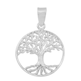 Thai Sterling Silver Tree of Life Pendant, Silver wt 3.52 Gms.