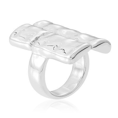 Designer Inspired Sterling Silver Ring, Silver wt 6.00 Gms.