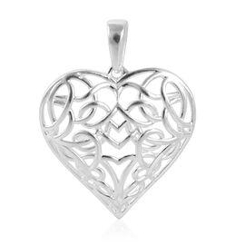 Sterling Silver Heart Shape Pendant