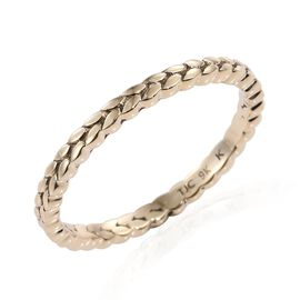 Kimberley 9K Y Gold Leaves Band Ring