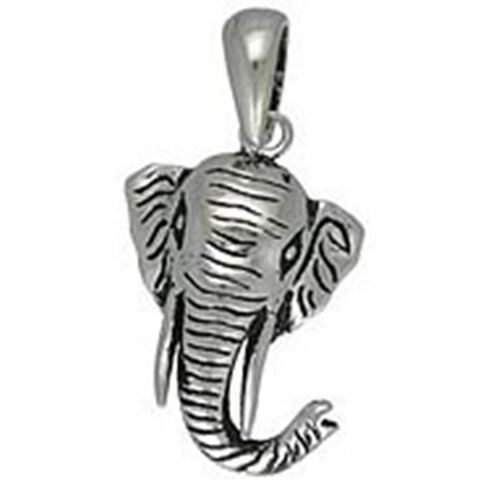 Creature Couture - Elephant Mask Pendant with Sterling Silver