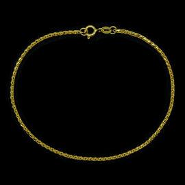 JCK Vegas Collection ILIANA 18K Y Gold Foxtail Bracelet (Size 7.5) 2.73 Gms.