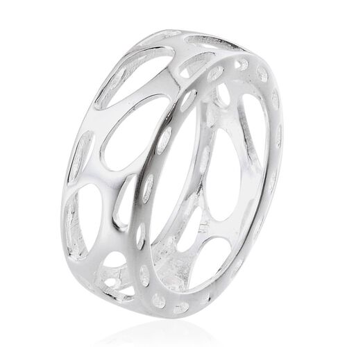 Sterling Silver Band Ring, Silver wt 2.95 Gms.
