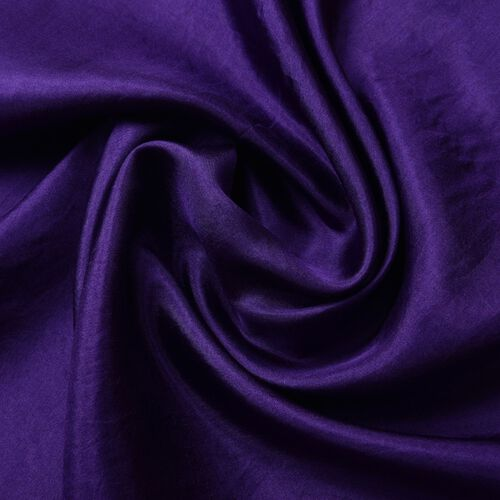 100% Mulberry Silk Purple Colour Scarf (Size 175X90 Cm)