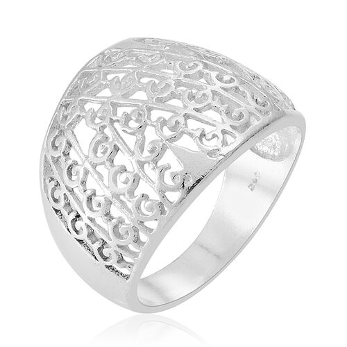 Thai Sterling Silver Ring, Silver wt 4.17 Gms.
