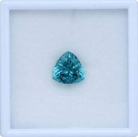 Paraiba Apatite (Trl Faceted 2A) 6.230 Ct.