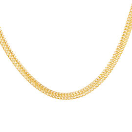 Royal Bali Collection ILIANA 18K Y Gold Tulang Naga Necklace (Size 20), Gold wt 11.37 Gms