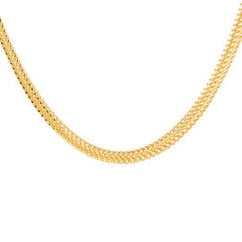 JCK Vegas Collection ILIANA 18K Yellow Gold Necklace Heart Curb 11.37 Grams (Size 20)