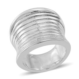 Thai Sterling Silver Band Ring, Silver wt 7.17 Gms.