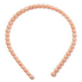 Fresh Water Peach Pearl Head Band 29.000 Ct.