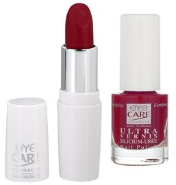 Eyecare cosmetics- Bronze Lip colour 635, Ultra silicon nail enamel 1535
