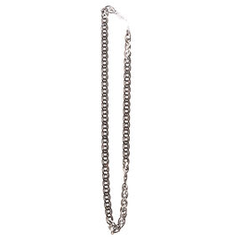 Close Out Deal Black Rhodium Plated Sterling Silver Chain (Size 22), Silver wt 54.40 Gms.