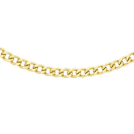 JCK Vegas Collection 9K Y Gold Curb Chain (Size 20)