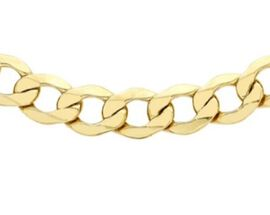 Close Out Deal 9K Y Gold Italian Curb Chain (Size 24), Gold wt 18.40 Gms.