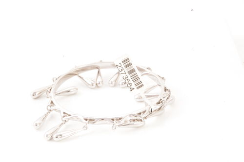 Sterling Silver Bangle (Size 7)