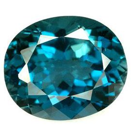 London Blue Topaz (Ovl 20x15 Faceted 4A) 23.000 Cts