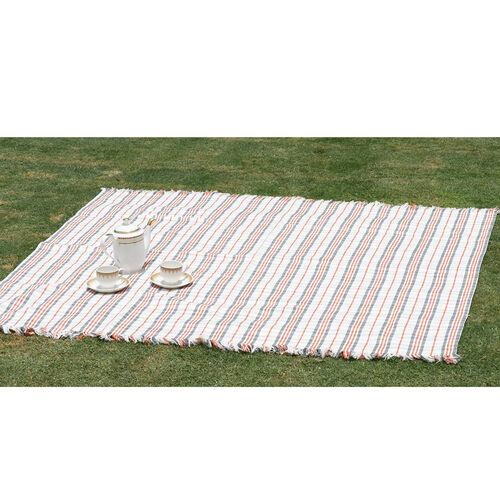 100% Cotton Bedspread/Sofa Protector Chocolate, Beige, and Multi Colour Tartan Check (Size 240x150 Cm)