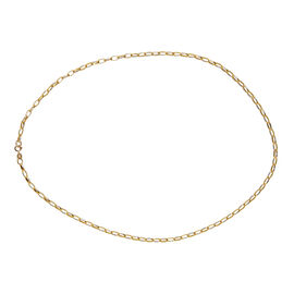 Close Out Deal 9K Yellow Gold Chain (Size 20), Gold Wt. 3.60 Gms.