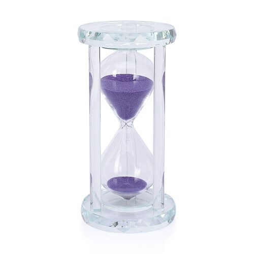 Egg Timer Clock (20 Minute) - Purple Sand