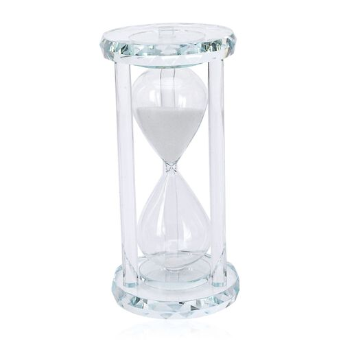 Egg Timer Clock (20 Minute) - White Sand