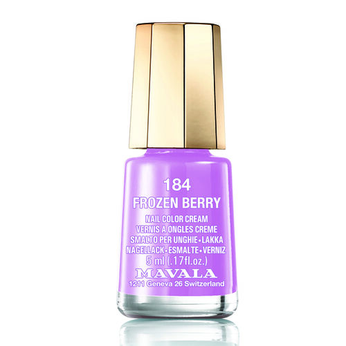 MAVALA- Frozen Berry 185 Nail Polish and Lilas 502 Lipstick
