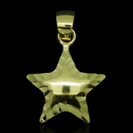 JCK Vegas Collection 9K Y Gold Star Pendant