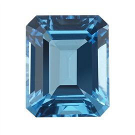 Electric Swiss Blue Topaz (Oct 20x15 Faceted 4A) 23.200 Cts