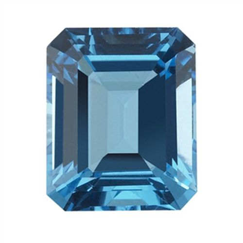 Electric Swiss Blue Topaz (Oct 20x15 Faceted 4A) 30.000 Cts