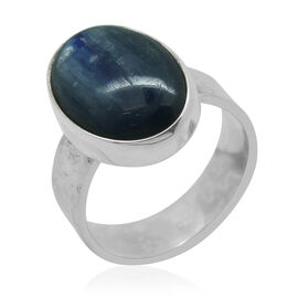 Royal Bali Collection Himalayan Kyanite (Ovl) Ring in Sterling Silver 12.130 Ct.