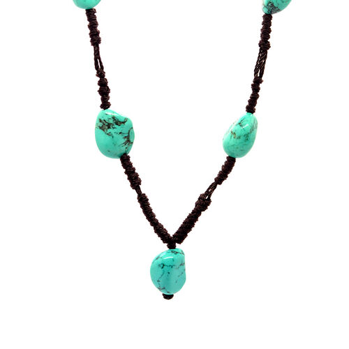 Turquoise Necklace (Size 20) 100.000 Ct.