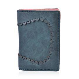 Dark Green Colour Short Wallet (Size 13x9x3 Cm)