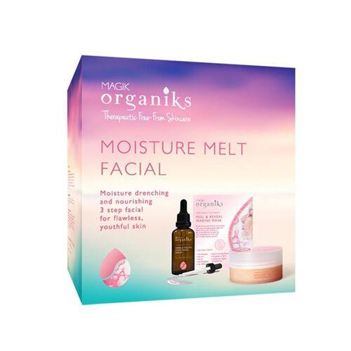 MAGIK ORGANIKS- Moisture Melt Box with Mask 30g, Cleansing Balm 100g. and Serum 50ml