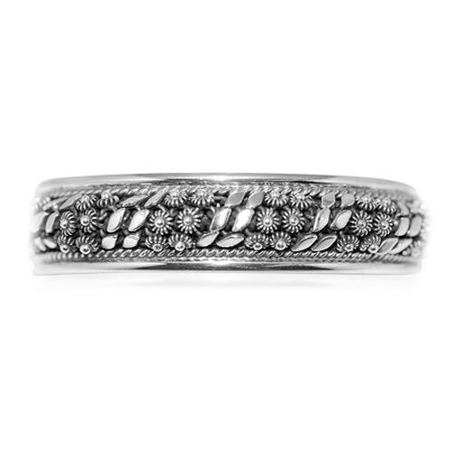 Last One- Sterling Silver Bangle