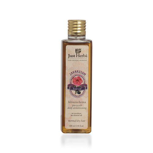 Just Herbs Javakusum Hair Oil (100 ml)