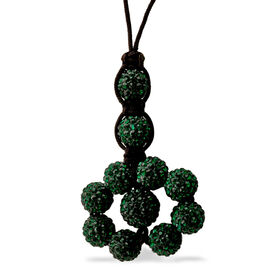 Green Austrian Crystal Tranquility Necklace (Adjustable)