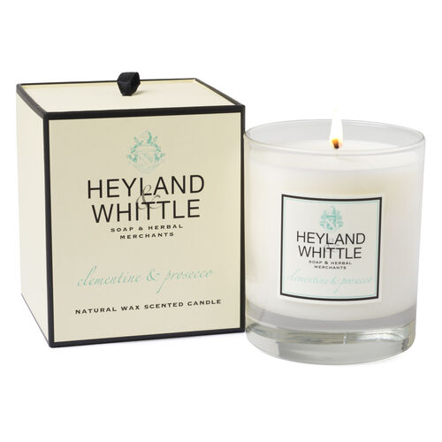 Heyland and Whittle Handmade Clementine and Prosecco Candle