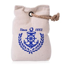 SINCE 1883 Door Stopper Cream and Blue Colour Bag With Holder On Top (Size 20x14 Cm)