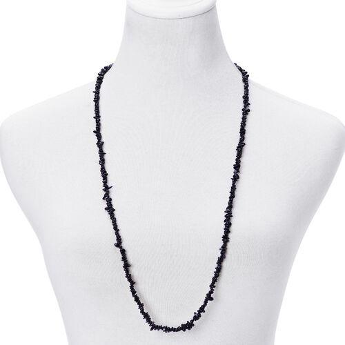 Black Tourmaline Necklace (Size 34) 155.000 Ct.