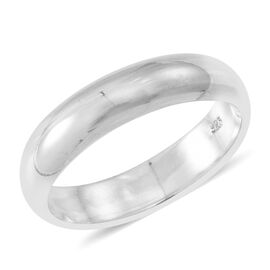 Statement Collection Sterling Silver Band Ring, Silver wt 5.11 Gms.