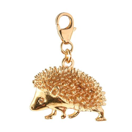 Hedgehog Charm in 14K Gold Overlay Sterling Silver, Silver wt 3.26 Gms.