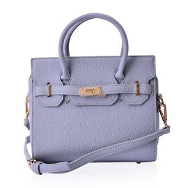Avenue Grey Colour Crossbody Bag with Adjustable and Removable Shoulder Strap (Size 24x20x12 Cm)