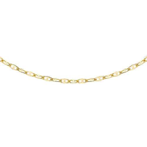 Close Out Deal 9K Y Gold Mariner Chain (Size 18)