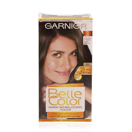 Garnier Belle Color 3 Natural Intense Dark Brown