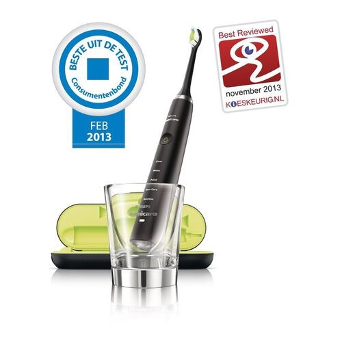 PHILIPS- Sonicare Diamond Clean Toothbrush -Black