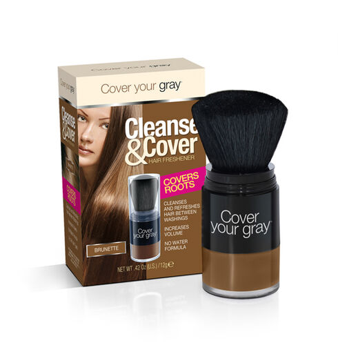 CYG Cleanse and Cover Hair Freshener 12g -- Brunette